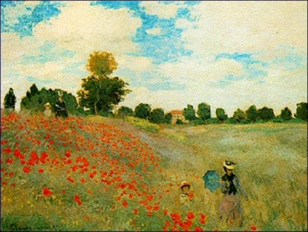 Monet, Les coquelicots, 1873