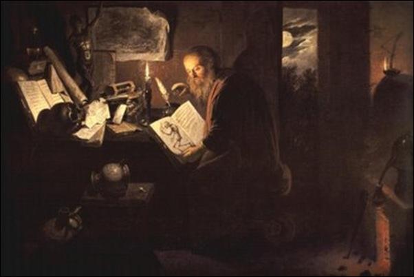 David Ryckaert; L'alchimiste 1648