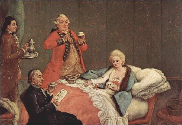 Pietro Longhi, Le chocolat du matin 1775