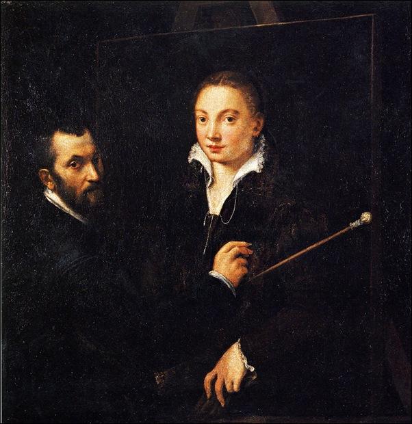 Bernardo Campi, Portrait de Sofonisba