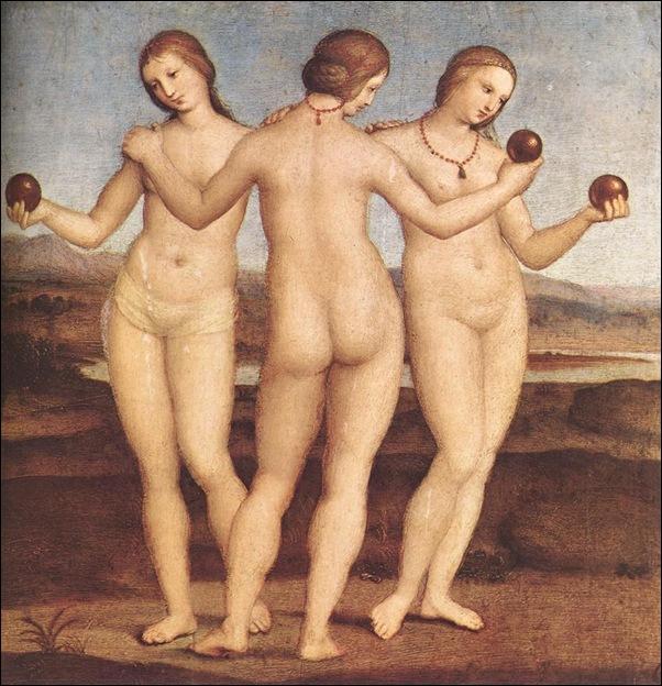 Raphael, Les trois grâces