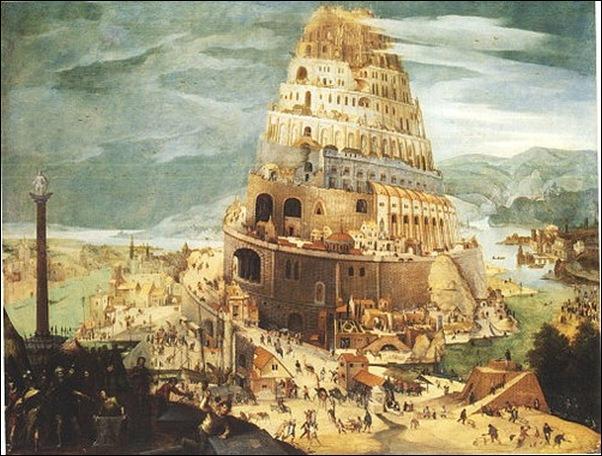 Martens Walckenborch, La Tour de Babel