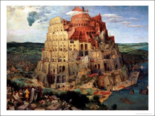 Brueghel, La Tour de Babel 1563