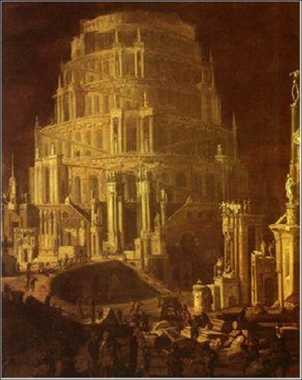 François de Nomé, Babel XVIIème