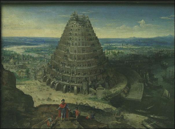 Lacas Van Walckenborch, La tour de Babel