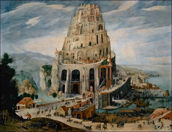 Martens Walkenborch, La Tour de Babel