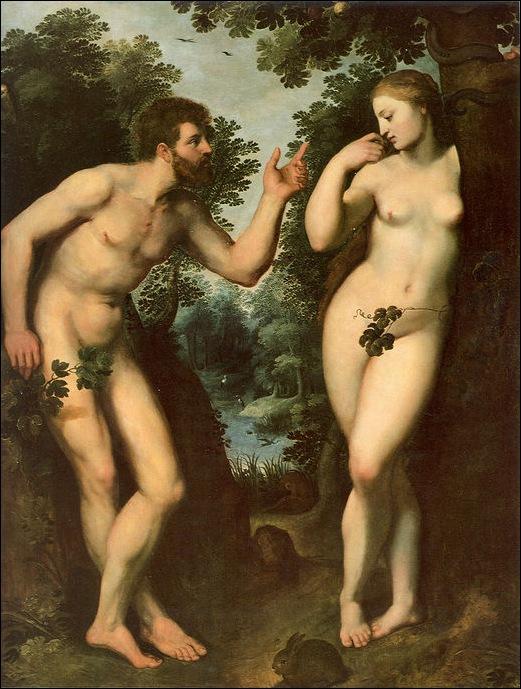 Rubens, Adam et Eve