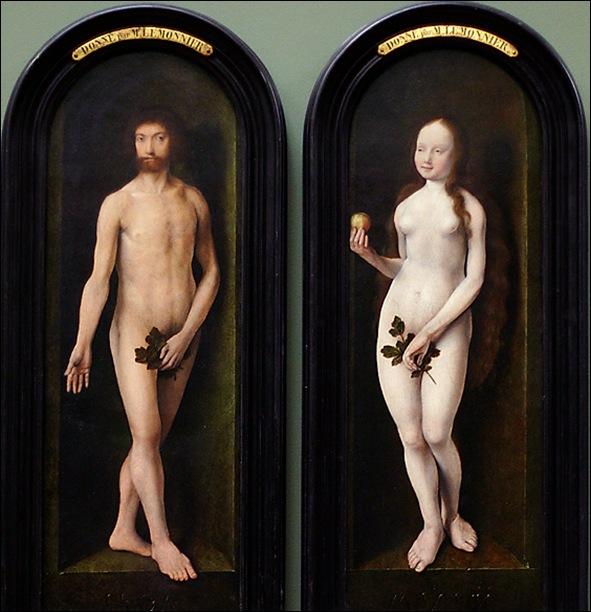 Van Cleve, Adam et Eve