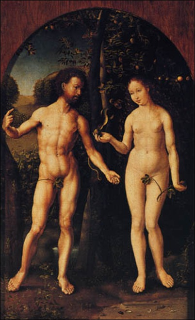 Gossaert, Adam et Eve
