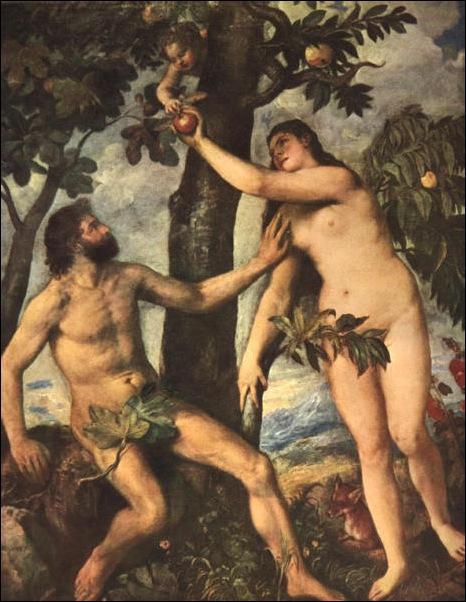 Titien, Adam et Eve