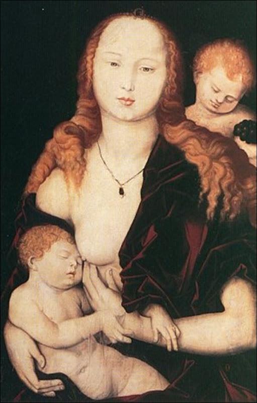 Baldung, La Vierge et l'enfant