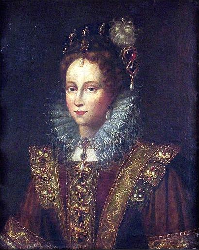 Anonyme, Portrait d'Elisabeth Ier