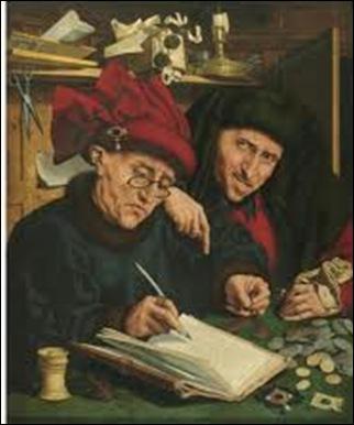 Marinus Van Reymerswaele, Les percepteurs d'impôts