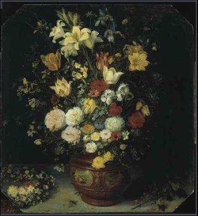 Jan Brueghel, Bouquet de fleurs