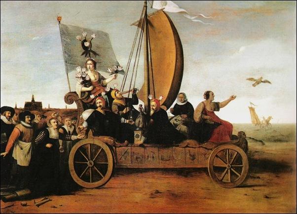 Hendrik Pot, Le char de Flore 1637