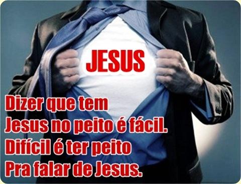 Jesus no peito