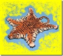 tigre morto