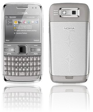 Metal Grey Nokia E72 - Phoneslimited