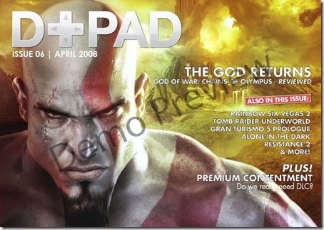 D+PAD 06 - British Game Magazine