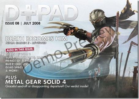 D+PAD 08 - British Game Magazine