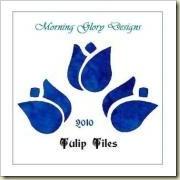 blue tulips web