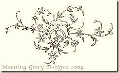rose motif small