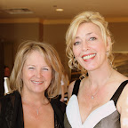 Pam Odam, Gala Chair and Lorris Herenda, Executive Director of Yellow Brick House