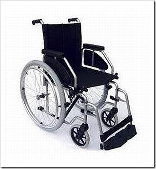 Cadeira de Rodas Atlas Lite.
