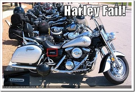 Harley Funny Fail | Harley Davidson or Kawasaki?