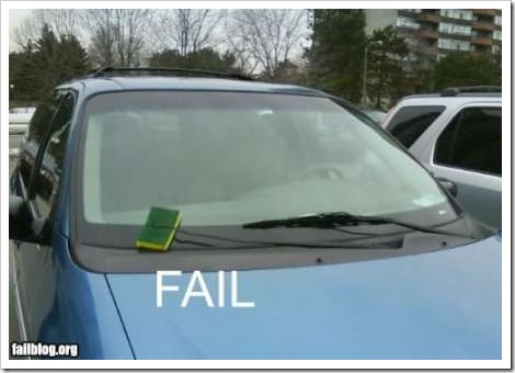 Windshield wiper fail | Fail Blog.