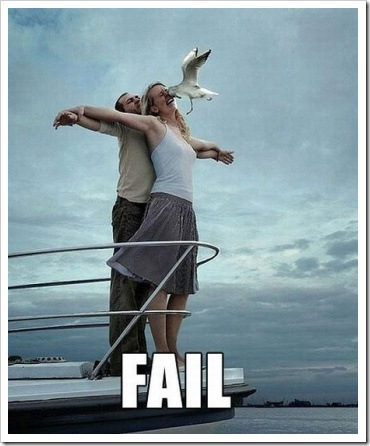 Titanic Romantic Fail
