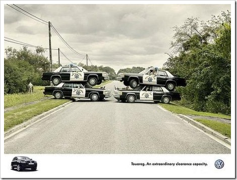 Funny Police Road Block.