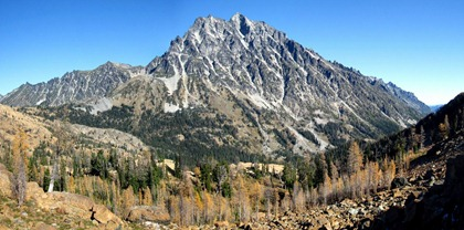 Mt. Stuart and Headlight Basin