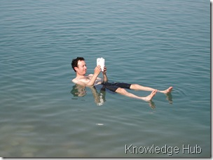 float-in-dead-sea