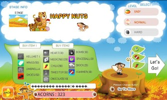 Screenshot of Squirrel NUTS 2