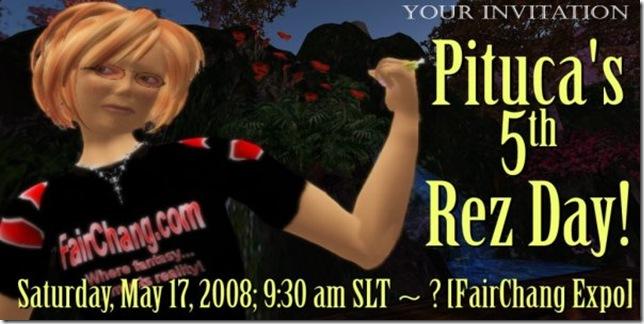 5th Rez Day invite