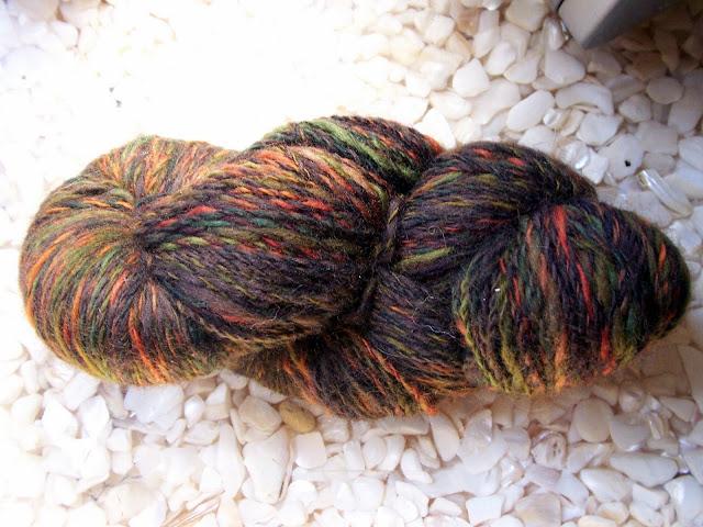 2 ply spindle-spun Targhee wool.