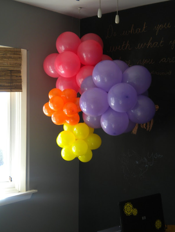 How to make balloon clusters
