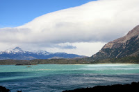 View of Lago Nordenskjold from Valle Bader (Torres Del Paine, Chile)