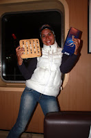 Vasilisa The Bingo Champion with Prizes (Navimag Boat Trip, Chile)