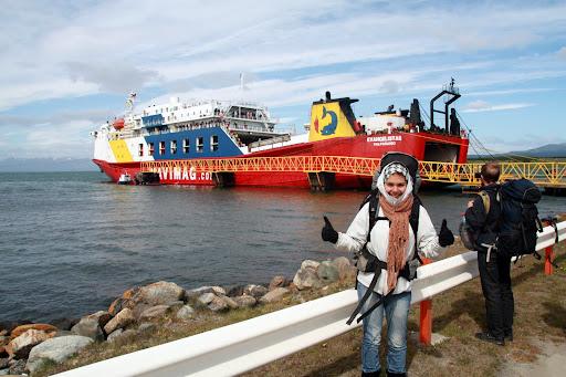 Farewell Navimag (Navimag Boat Trip, Chile)