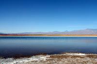 View of the salt lake (San Pedro de Atacama, Chile)