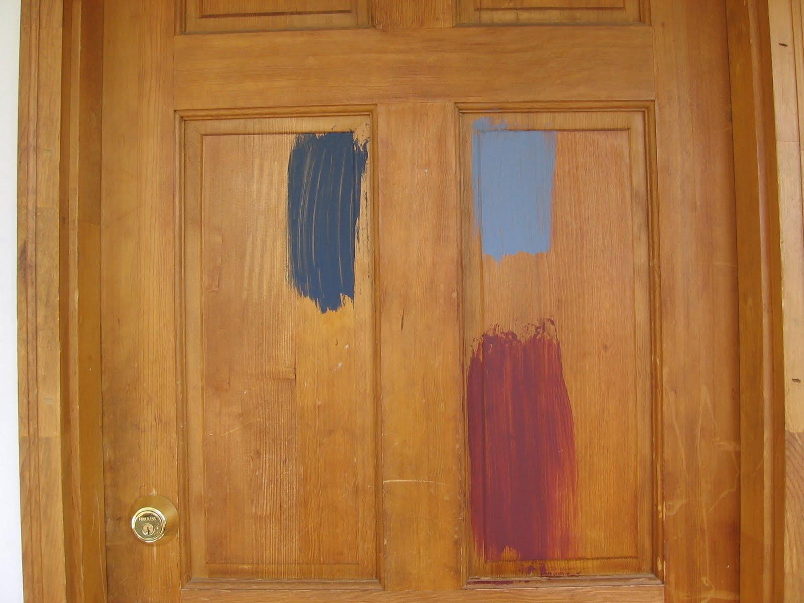 Покраска деревянных дверей: как 11