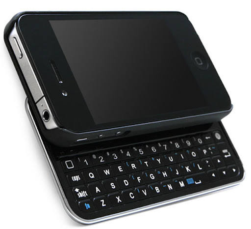 iPhone 4 menjadi Slider Qwerty, BoxWave, Keyboard baru iPhone 4