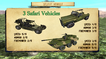 Screenshot of 4x4 Safari Race : Poacher Hunt