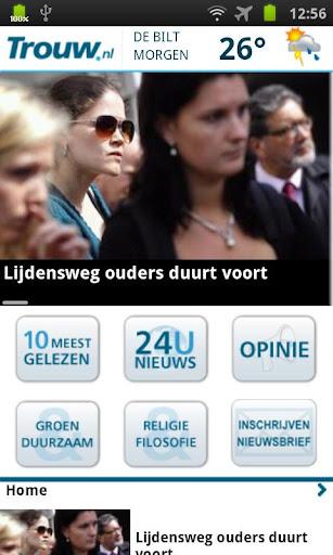 Trouw.nl Mobile