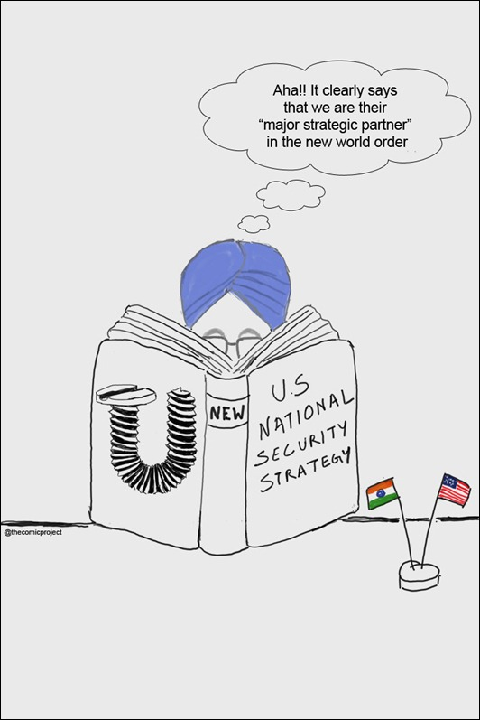 New US Security Strategy - Toon