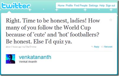 FootballTweet