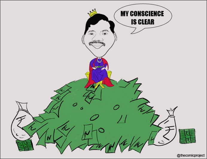 A Raja's Conscience