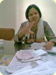 सुश्री शशि पाण्डे- सांसद प्रत्याशी इलाहाबाद